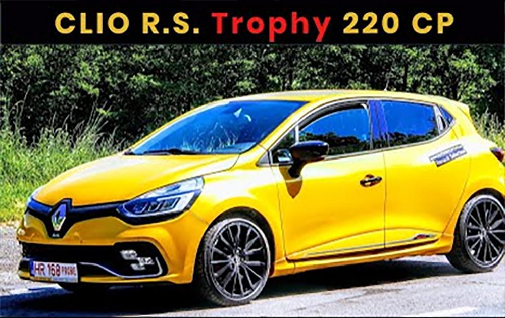 Renault CLIO RS Trophy 220 LE - Autóteszt
