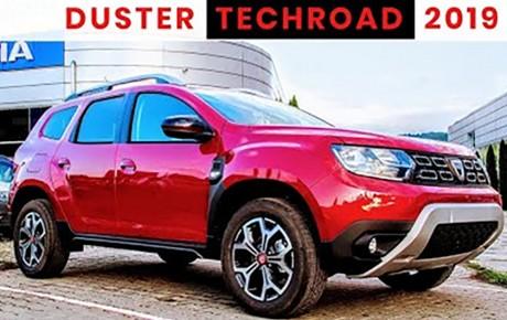Dacia Duster Techroad 2019 – Autóteszt